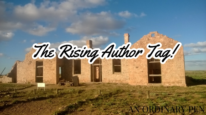 rising author blog header
