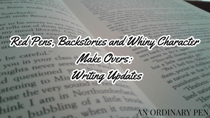 updates writing blog header
