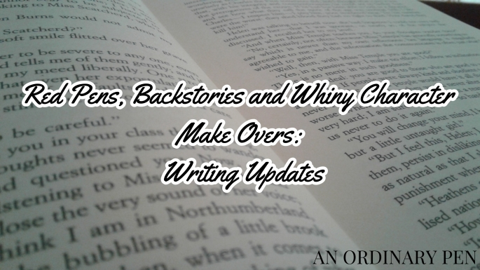 updates writing blog header