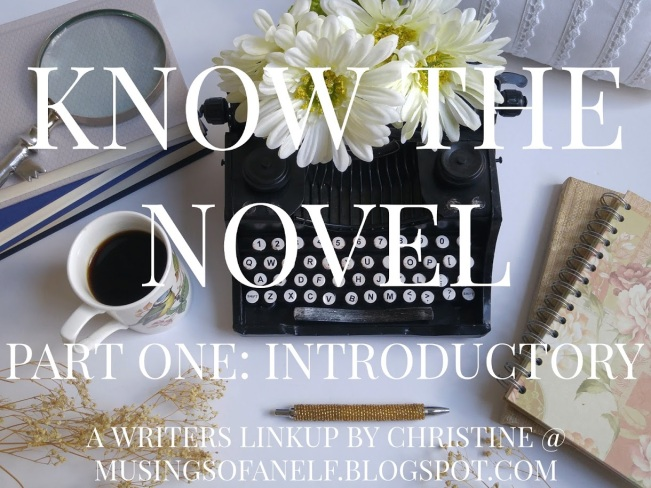 Know the Novel Part One Banner