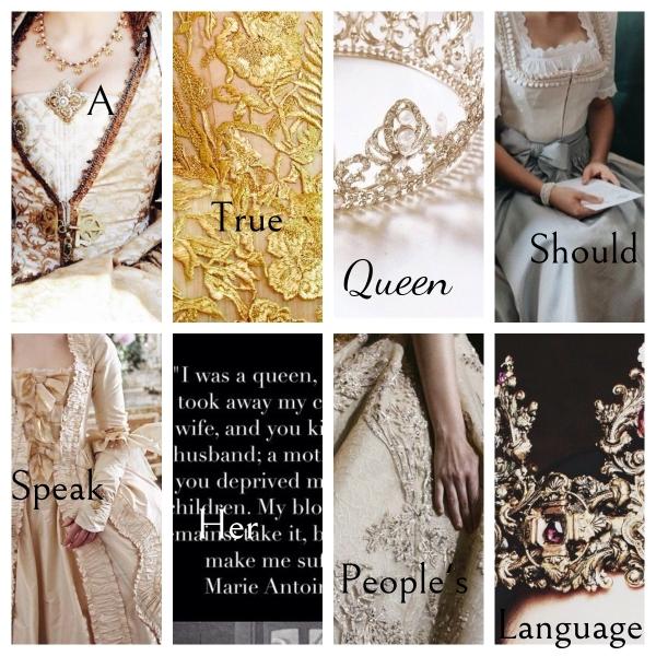 Marie Antoinette Fantasy Collage