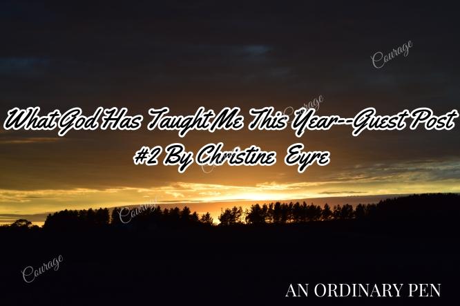 Christine Eyre blog header