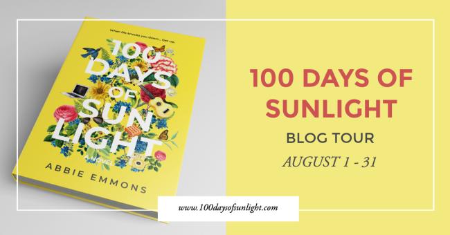 100 Days of Sunlight Blog Tour Promo Graphic 2